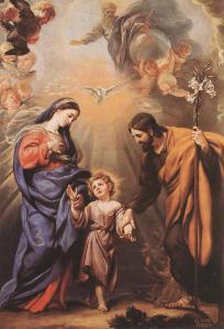 C. Coello (+1693), Le due Trinità