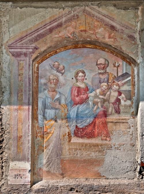 Santa Famiglia con S. Giovannino